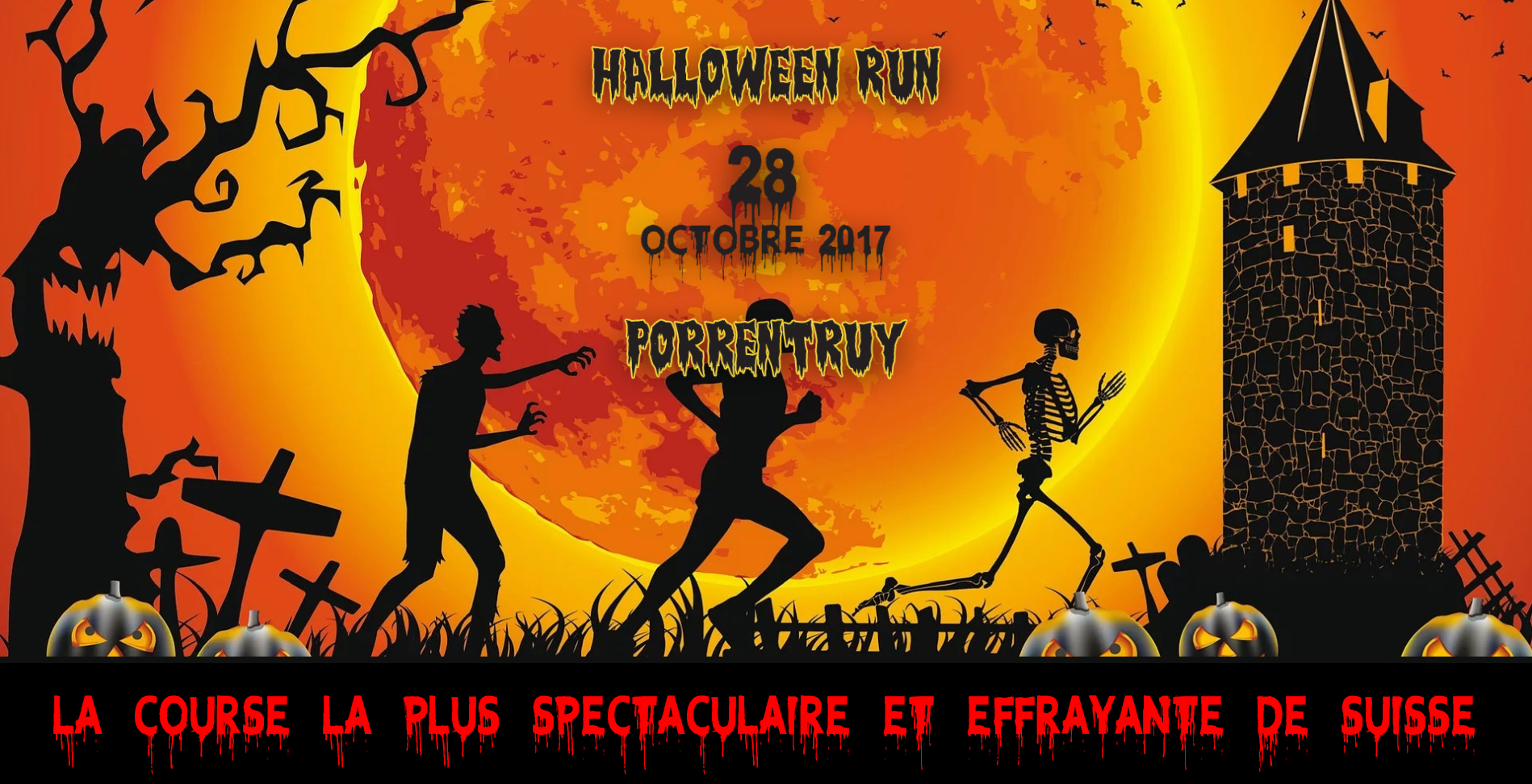 Connu Halloween Run et Course de la vieille Ville - 2017 - MSO-Chrono [FR] VM57